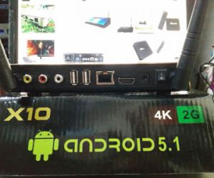 TV BOX ANDROID X10 PRO