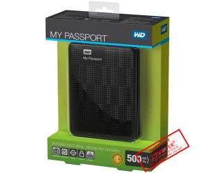 Box di động 500G WD Passport