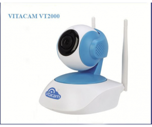 Camera IP Wifi VITACAM Camera VT2000 3.0MP Robo Chính hãng