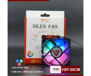 FAN CASE 8CM V08 LED