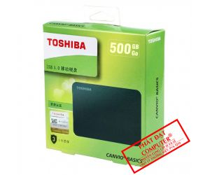 HDD Box 500GB Toshiba Canvio Basics