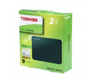 HDD Box 2TB Toshiba Canvio Basics