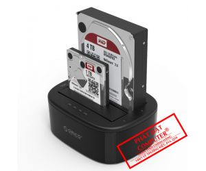HDD Docking 2.5 + 3.5 Sata ORICO 3.0