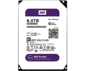 HDD PC WD 8T PURPLE Chuyên Camera