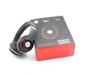 Headphone Bluetooth P15 STEREO (FM/RADIO/MP3)