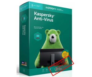 Kaspersky Antivirus 1PC/12T 2019 Box NTS