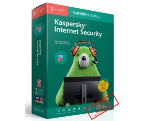 Kaspersky Internet Security 3PC/12T 2019 Box NTS