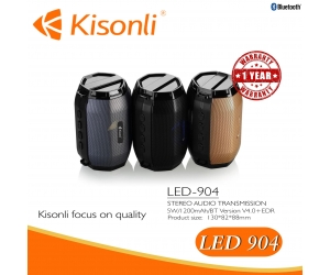 Loa Bluetooth Kisonli LED 904