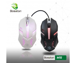 Mouse Bosston M15 LED USB
