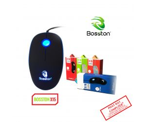 Mouse Bosston X15 LED USB