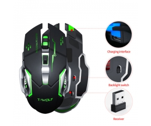 Mouse ko dây T-WOLF Q13