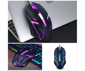 Mouse T-WOLF V1 LED USB