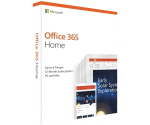 Office 365 Home English APAC EM Subscr 1YR Medialess P4:6GQ-00968