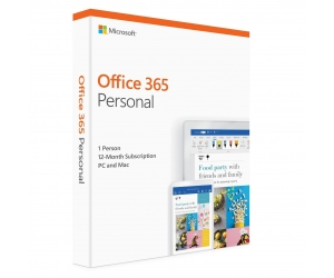 Office 365 Personal English APAC EM Subscr 1YR Medialess P4:QQ2-00807