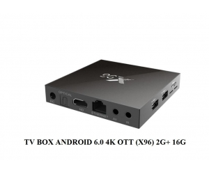 TV BOX OTT X96 2G+16G 4K ANDROID 6.0