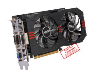 VGA Asus GTX 750Ti 2GB Renew (2 Fan)